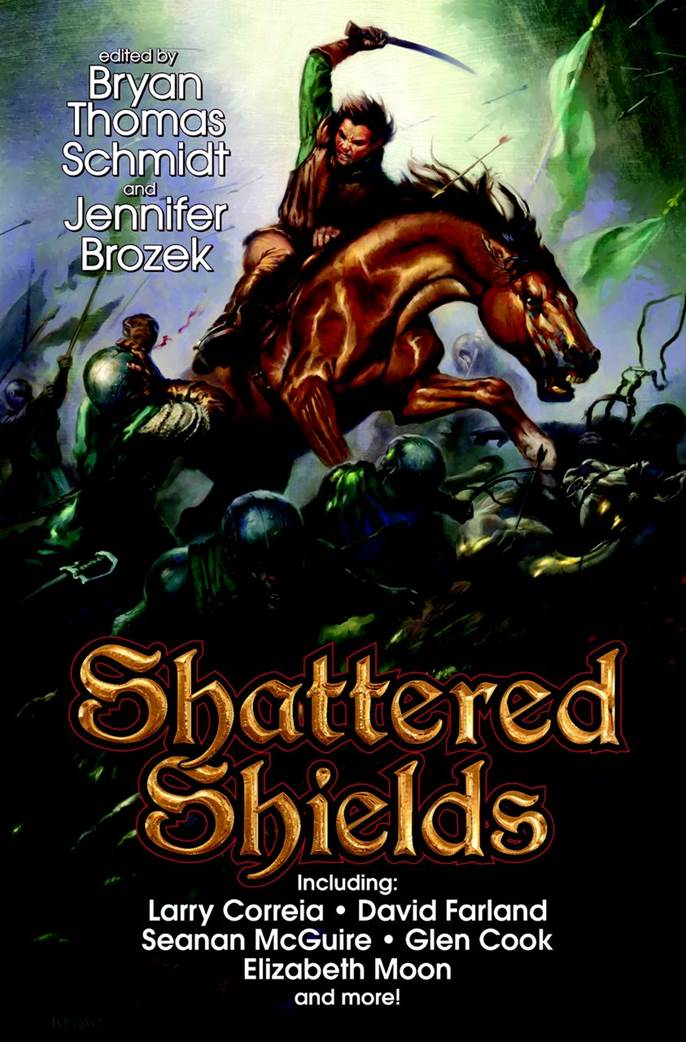 Shattered Shields, including a story by Gray Rinehart
